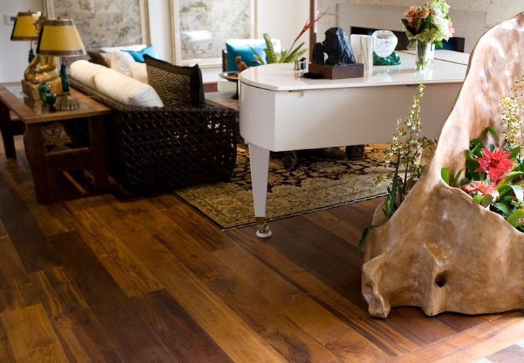 IndoTeak Design Hardwood Teak Flooring