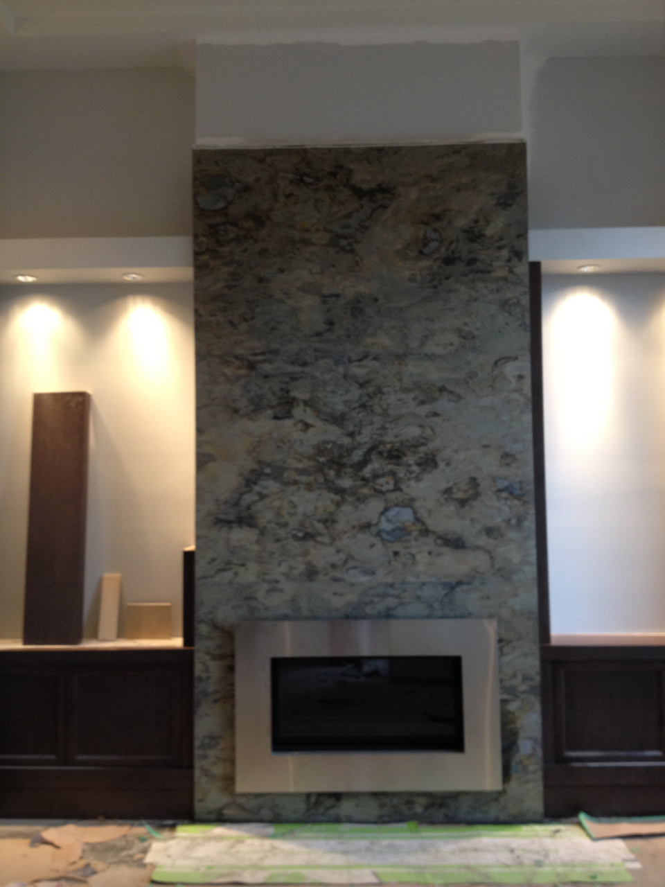 slate tile fireplace surround with arch flickr photo