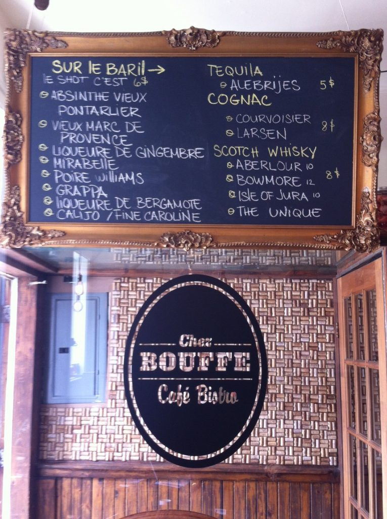 Chez Bouffe, Cork Wall