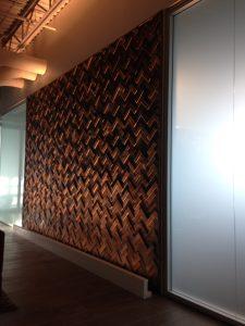 Barn Wood Wall Tile Feature Wall