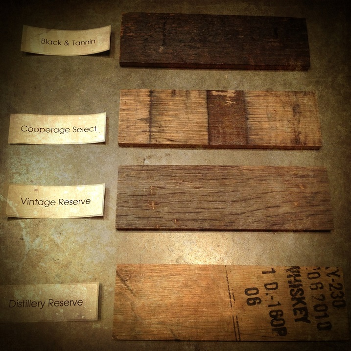 Bourbon Wood Barrel Floors