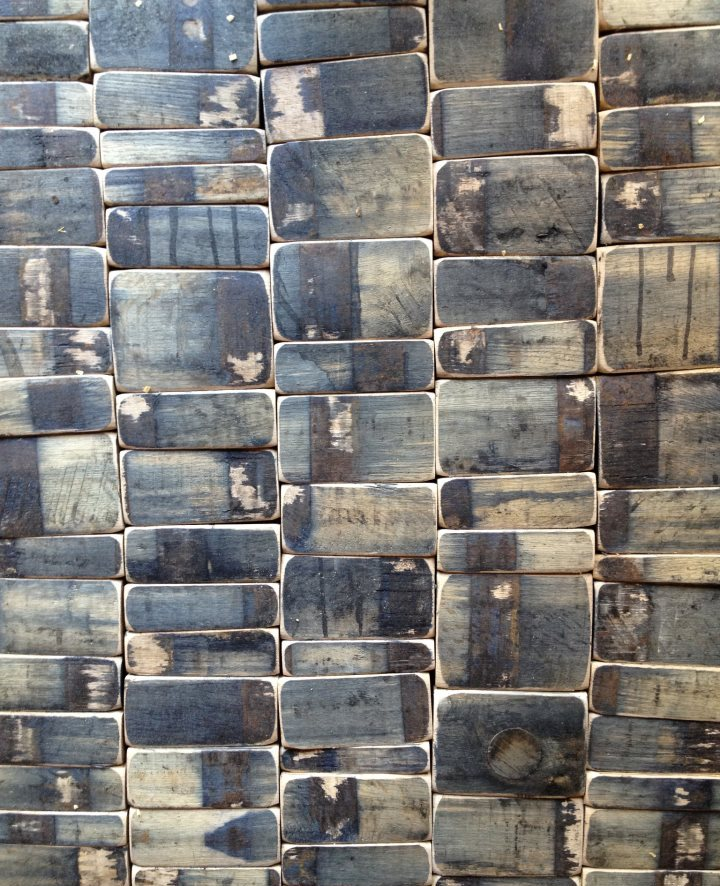 Whiskey Barrel Wood Wall Tiles