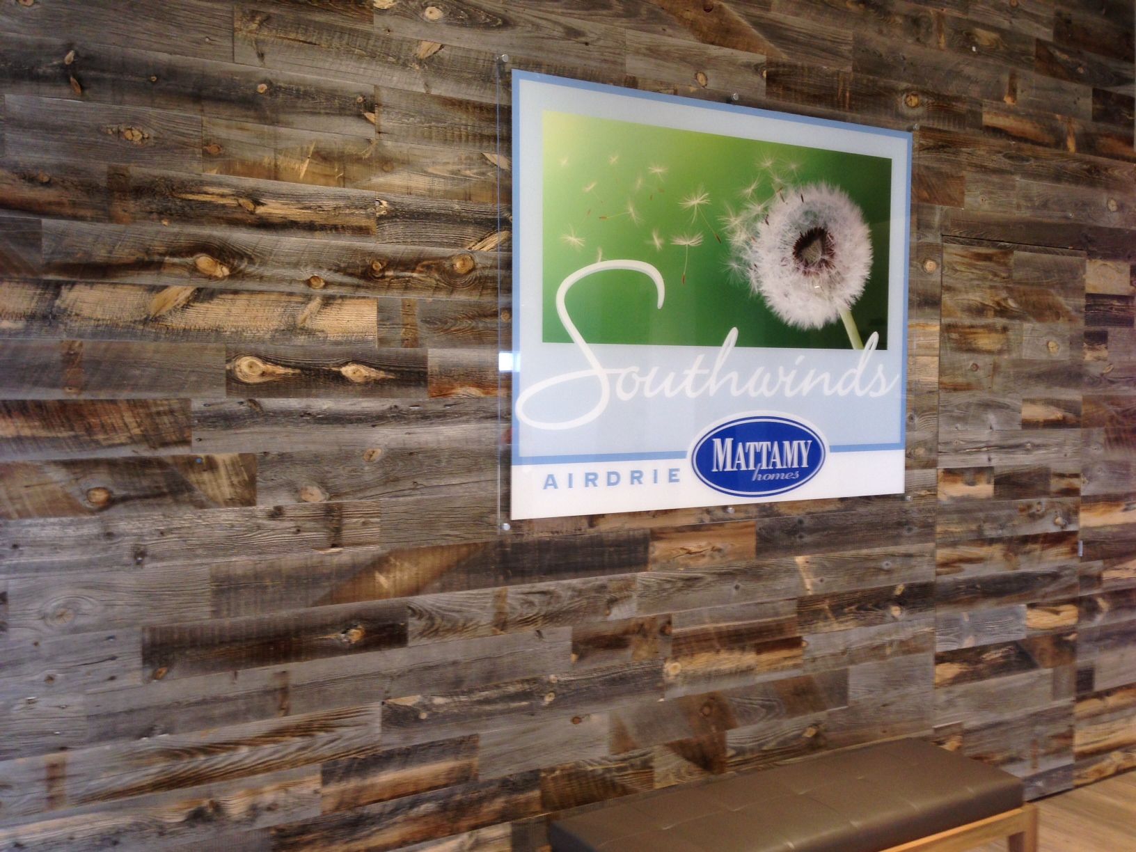 peel stick reclaimed wood wall tiles airdrie alberta - Mattamy Homes Design Center