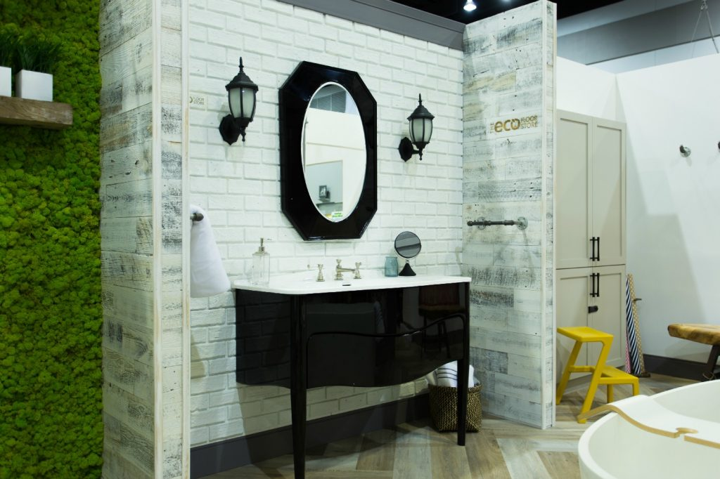classicBRICK and Stikwood Wall Surfaces