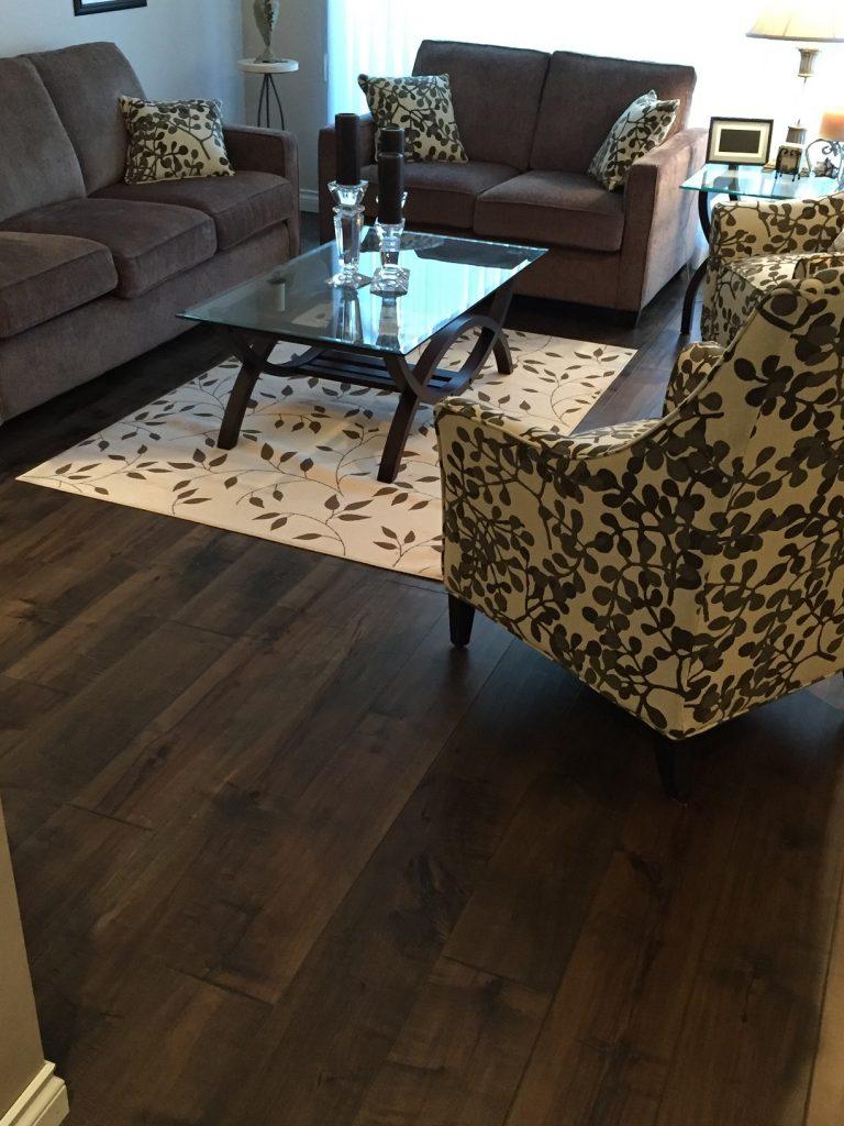 Engineered Hardwood Floors Installation in North Surrey, BC